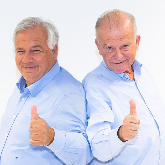 Wolfgang Fellner und Rudi Klausnitzer (Foto: Mediengruppe Österreich)