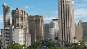 Blick auf die Skyline von Honolulu (Foto: SmartPhoneFan.de)