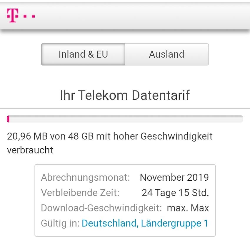 Telekom behebt Datenpanne (Foto: SmartPhoneFan.de)