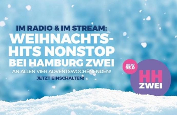 Hamburg Zwei mit weihnachtlichen Wochenenden (Foto: Hamburg Zwei)