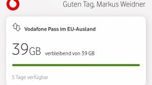Vodafone Pass im Ausland nutzbar (Foto: SmartPhoneFan.de)