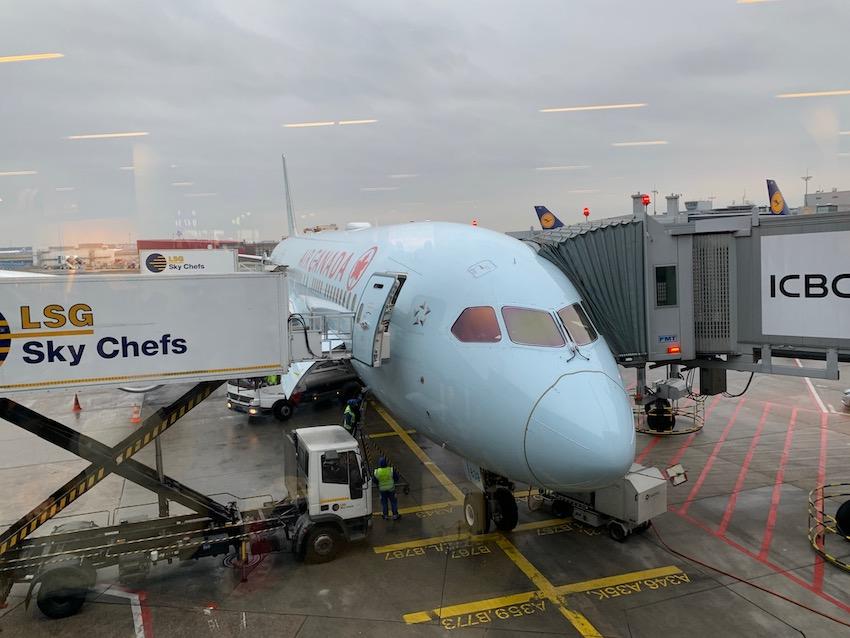 Erster Überseeflug mit Air Canada (Foto: SmartPhoneFan.de)