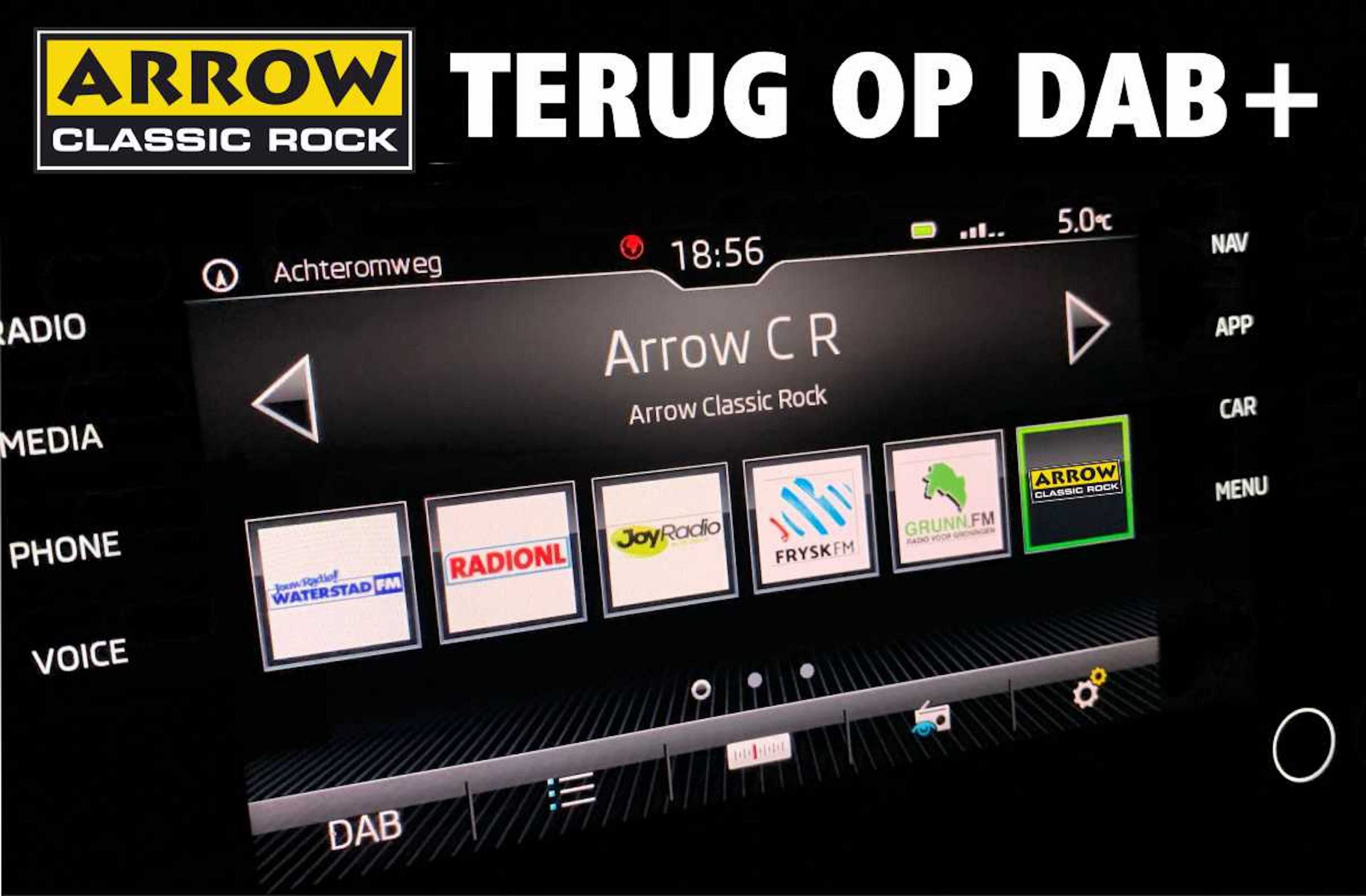 Arrow Classic Rock auf DAB+ (Foto: Arrow Classic Rock)
