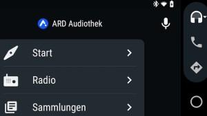 ARD-Audiothek bei Android Auto (Foto: SmartPhoneFan.de)