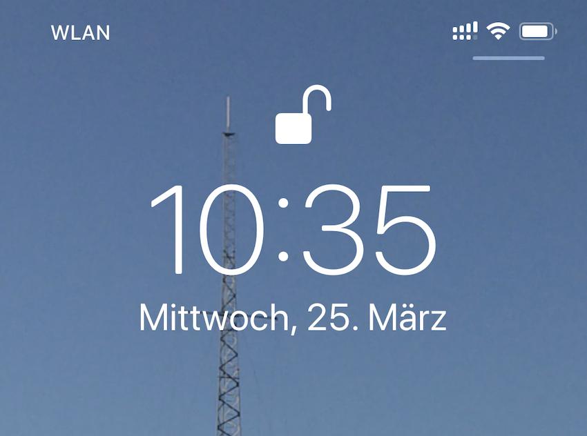 "Apple ""vergisst"" zweiten Netzbetreiber (Foto: SmartPhoneFan.de)"