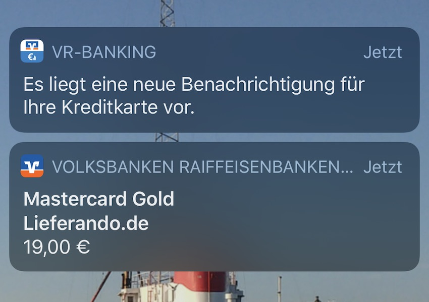 Apple Pay von der VR Bank funktioniert (Foto: SmartPhoneFan.de)