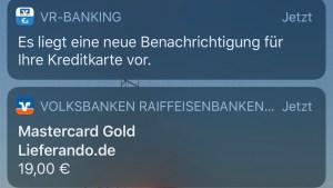Apple Pay von der VR Bank funktioniert (Foto: SmartPhoneFan.de)
