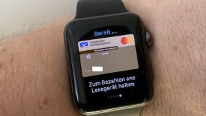 Apple Pay mit VR-Bank-MasterCard (Foto: SmartPhoneFan.de)
