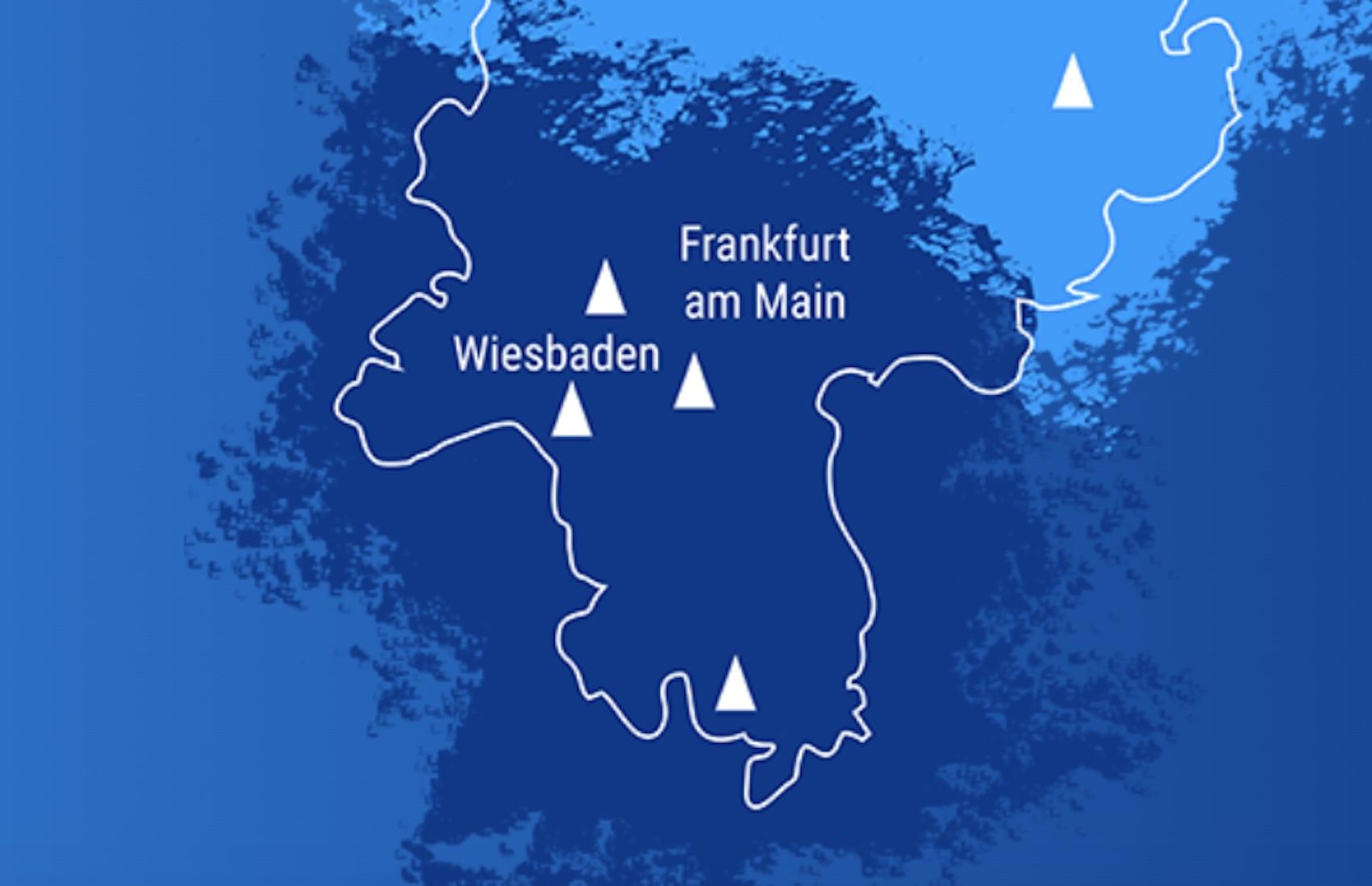 Sendernetz Hessen-Süd (Foto: Hessen Digital Radio)