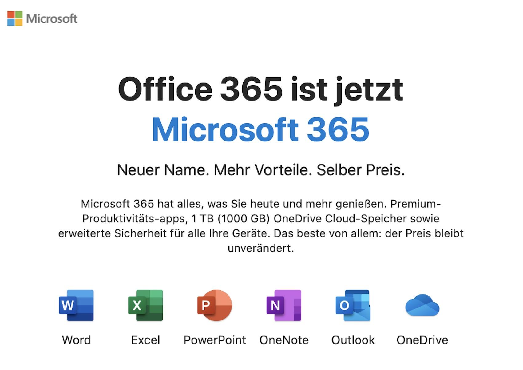 Microsoft 365 angekommen (Foto: SmartPhoneFan.de)