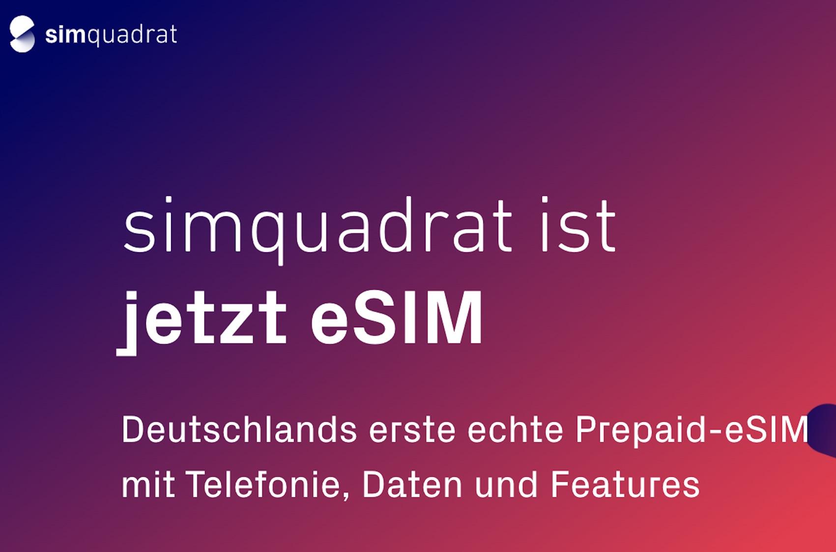 Probleme mit simquadrat (Quelle: simquadrat.de, Screenshot: SmartPhoneFan.de)
