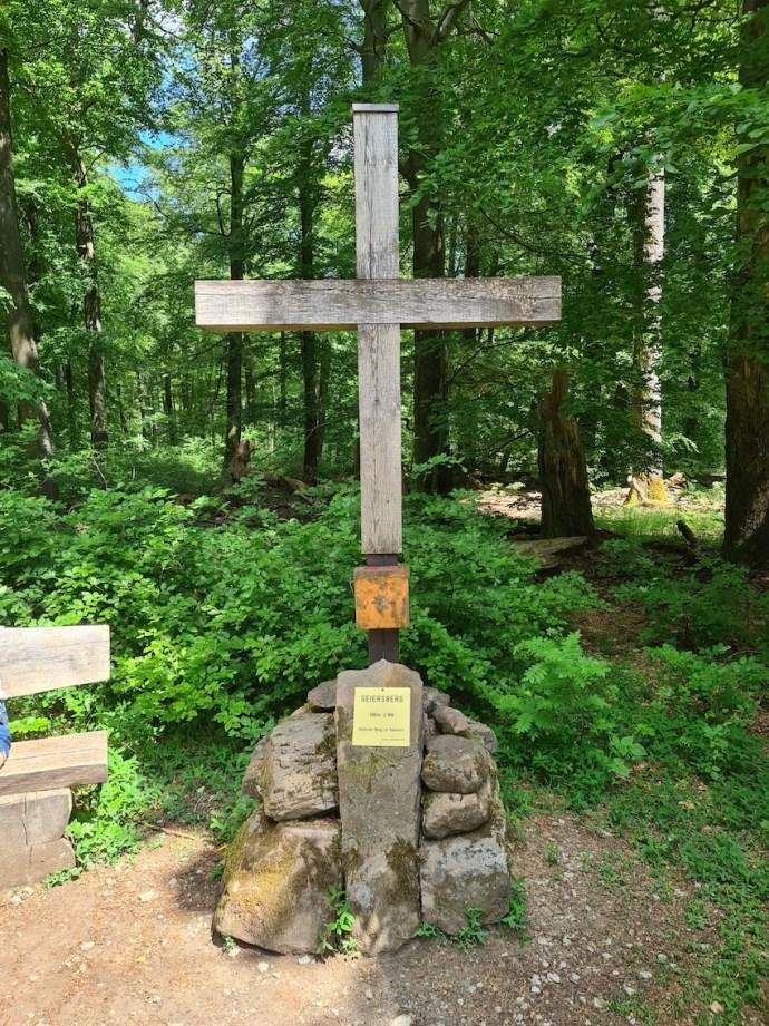 Spessart-Gipfelkreuz auf dem Geiersberg (Foto: SmartPhoneFan.de)