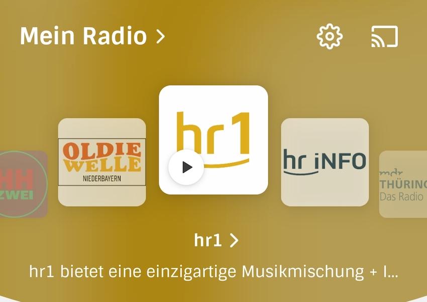 Radioplayer überarbeitet (Foto: SmartPhoneFan.de)