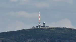 Blick vom Torfhaus zum Brocken (Foto: SmartPhoneFan.de)
