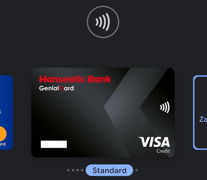 GenialCard bei Google Pay (Foto: SmartPhoneFan.de)
