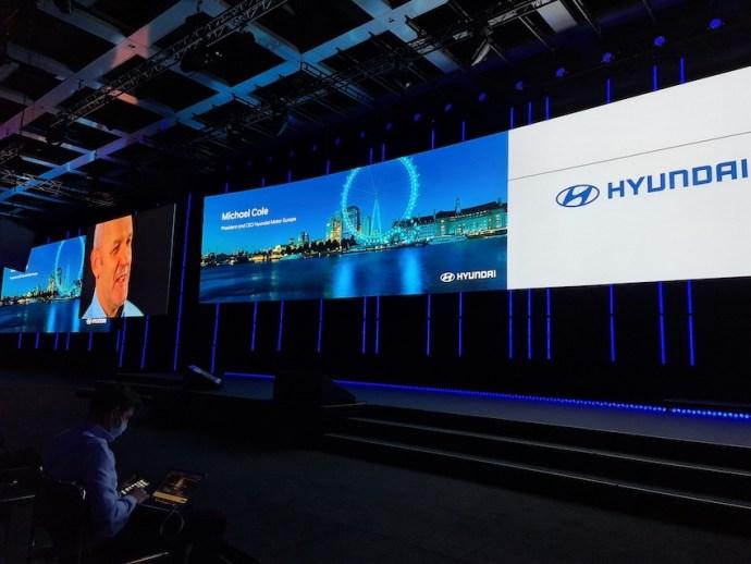 Hyundai-Pressekonferenz nur als Video (Foto: SmartPhoneFan.de)
