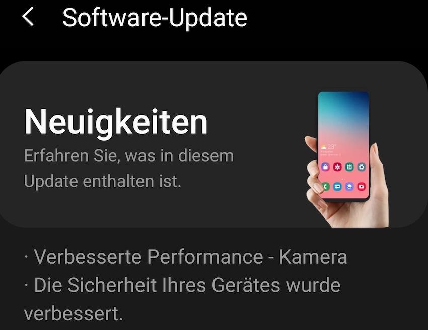Galaxy S20 Ultra bekommt Kamera-Update (Foto: SmartPhoneFan.de)
