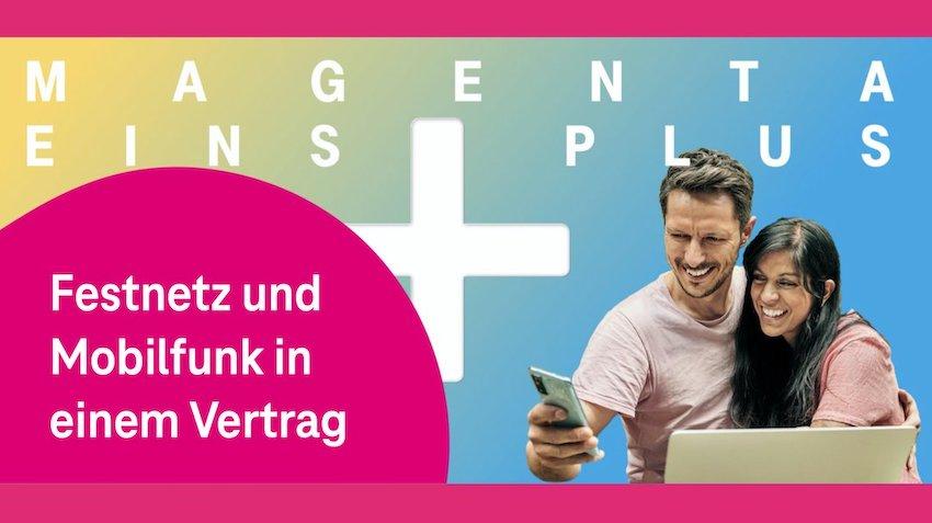 MagentaEINS Plus ist da (Foto: Telekom)