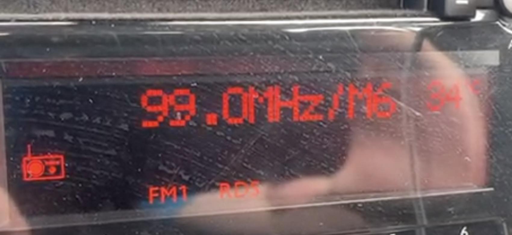 Radio Galaxy statt Radio Nikita auf 99,0 MHz (Foto: SmartPhoneFan.de)