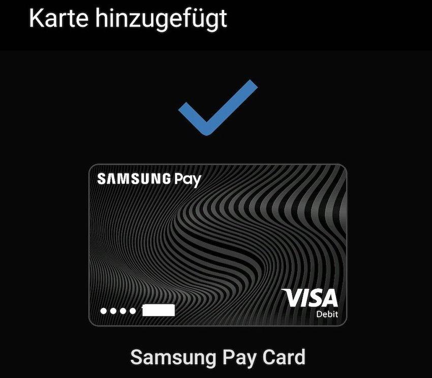 Samsung Pay aktiviert (Foto: SmartPhoneFan.de)