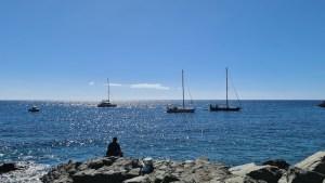 Blick von Puerto de Mogan auf den Atlantik (Foto: SmartPhoneFan.de)
