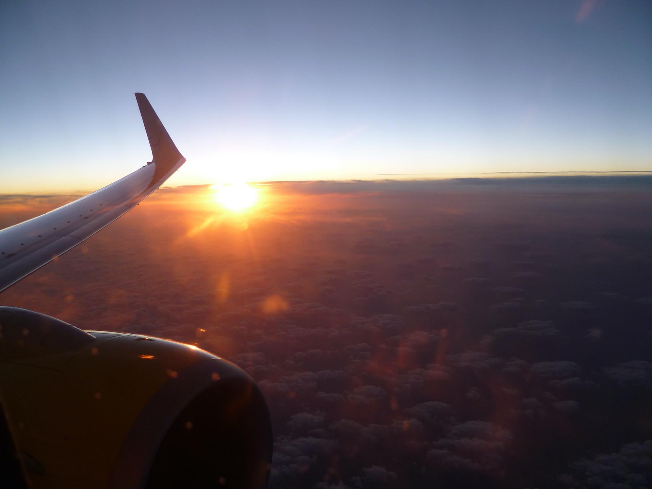 Rückflug am Samstag (Foto: SmartPhoneFan.de)