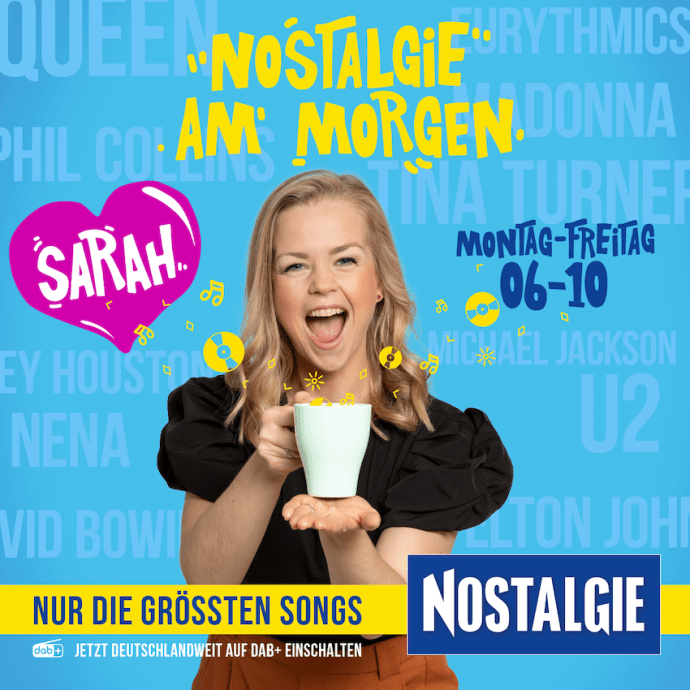 Nostalgie am Morgen mit Sarah Fripon (Foto: Radio Energy)