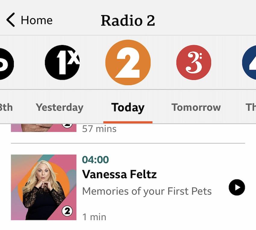 BBC Sounds App auf dem iPhone (Screenshot: SmartPhoneFan.de)
