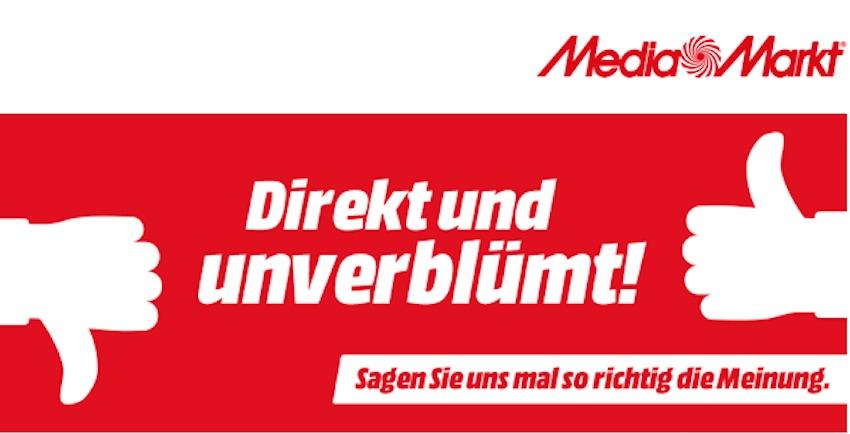 Kundenbefragung von Media Markt (Screenshot: SmartPhoneFan.de)