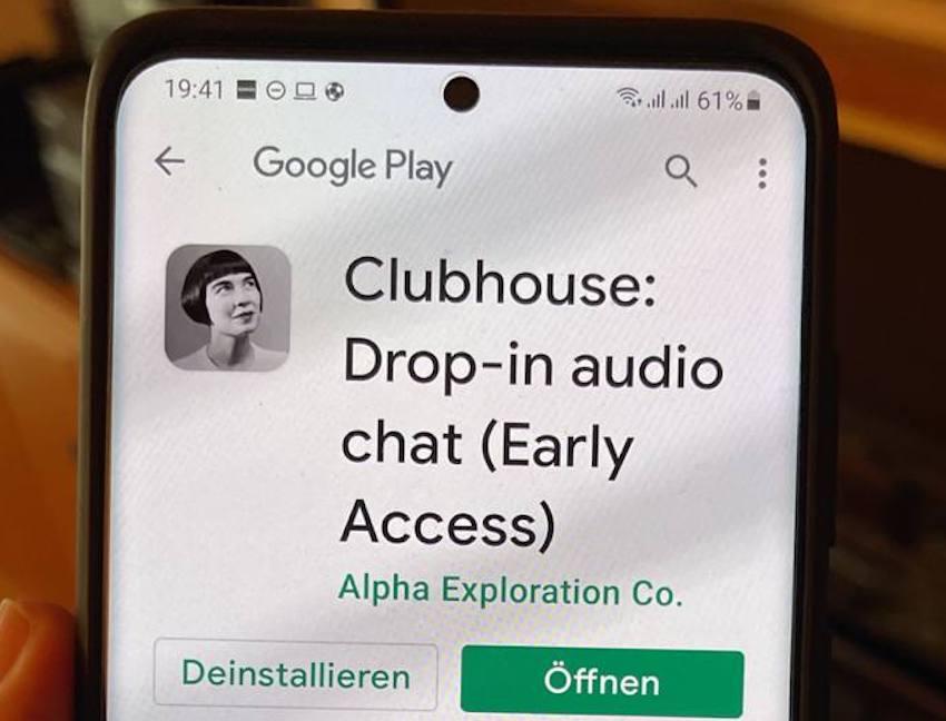 Clubhouse im Google Play Store (Foto: SmartPhoneFan.de)