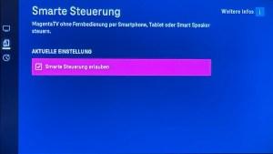 Smarte Steuerung für MagentaTV (Foto: SmartPhoneFan.de)