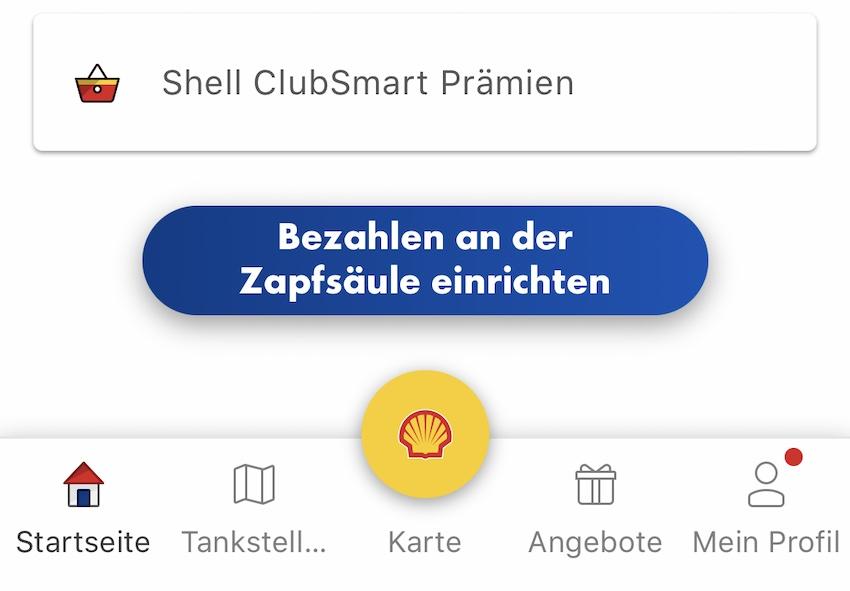 Neue Erkentnisse zu Shell Smart Pay (Screenshot: SmartPhoneFan.de)