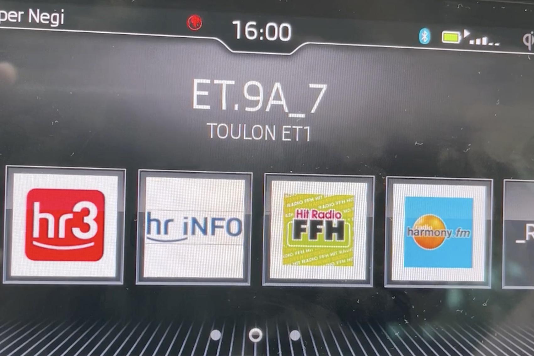 DAB+-Textmux aus Toulon (Foto: SmartPhoneFan.de)
