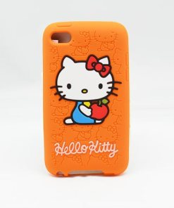 iPod touch 4 hoesje Hello Kitty oranje online kopen - 170010 - Smartphonehoesjes 4 you