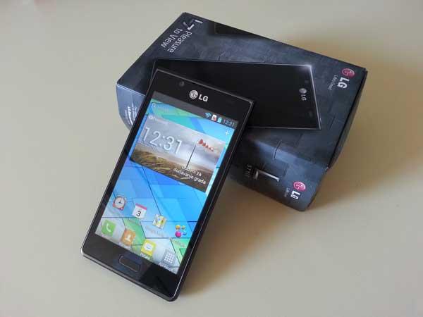 LG Optimus L7 test