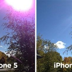 iPhone 5 kamera problem
