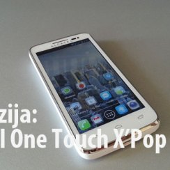 Alcatel One touch X'Pop recenzija