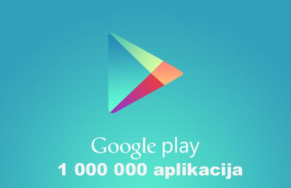 Google Play Store milijun aplikacija