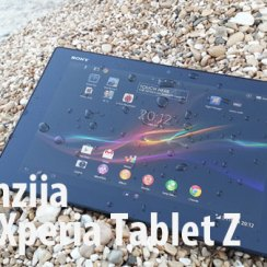 Xperia Tablet Z test recenzija