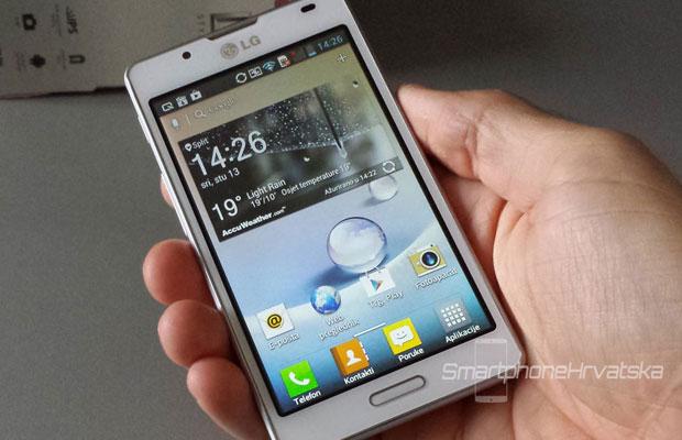 LG Optimus L7 2 recenzija zaslon