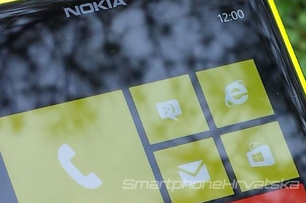 Lumia 1020 recenzija zaslon