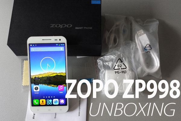 Zopo ZP998 octa unboxing