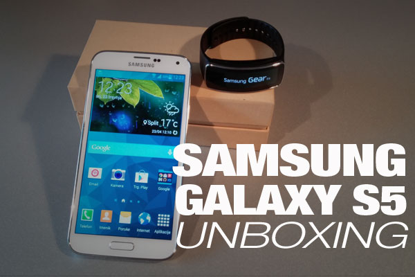 galaxy s5 unboxing