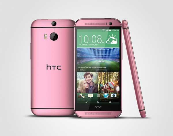 HTC One M8 ružičasti