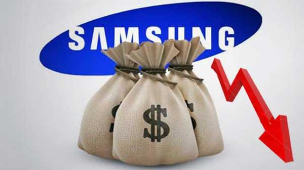 Samsung pad dobiti i tržišnog udjela Q2 2014
