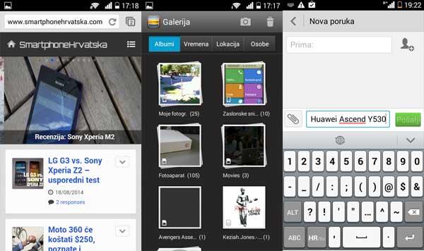 Huawei Ascend Y530 screenshot 1