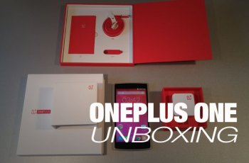 ONEPLUS ONE UNBOXING