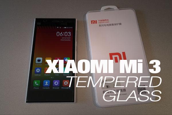 Xiaomi Mi 3 Tempered Glass na testu izdržjivosti