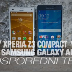 Samsung Galaxya Alpha ili Sony Xperia Z3 Compact
