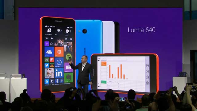 Lumia 640 windows 10